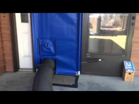 Seal A Door For Furnace Duct Cleaning