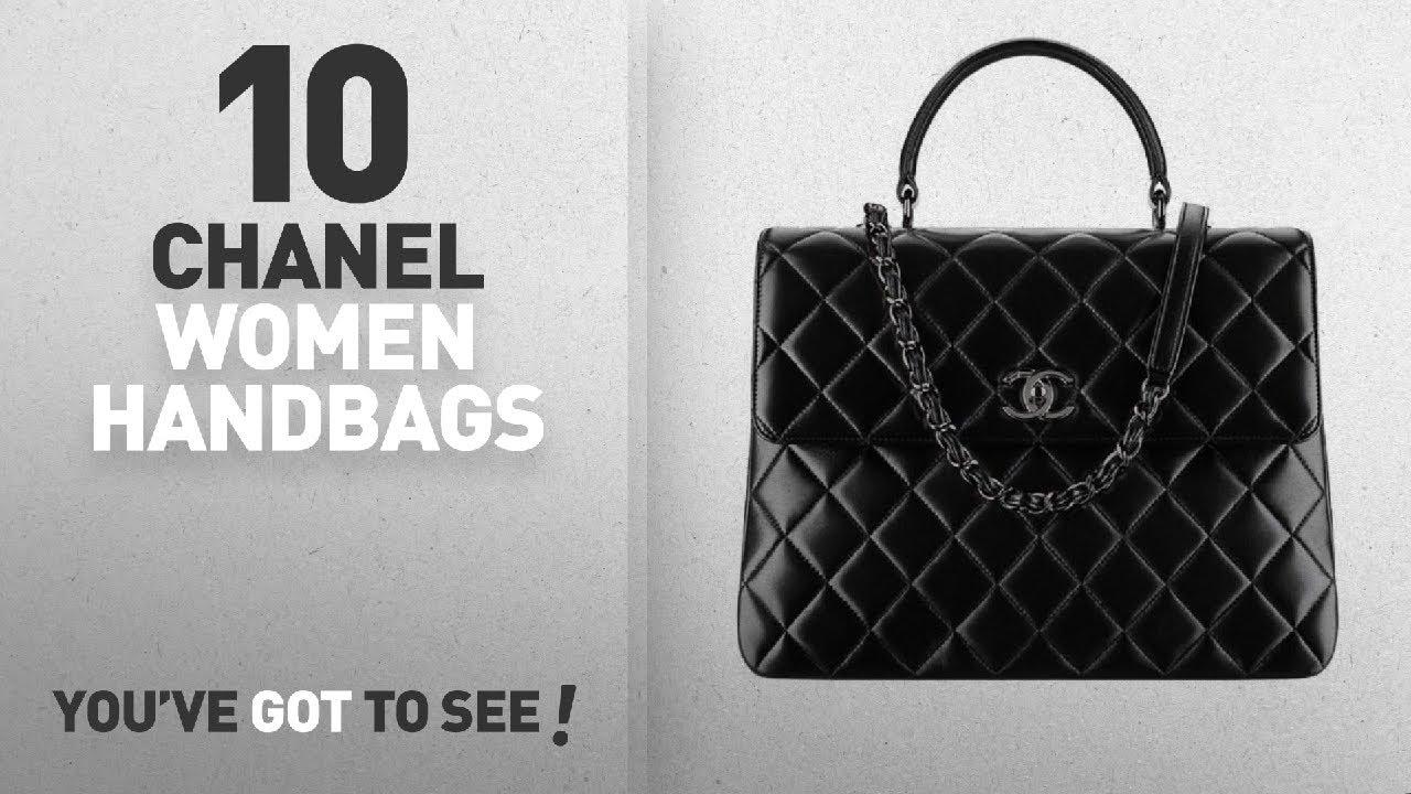 Chanel Handbags Wallets Top 10 Fashion Chanel Women S Black