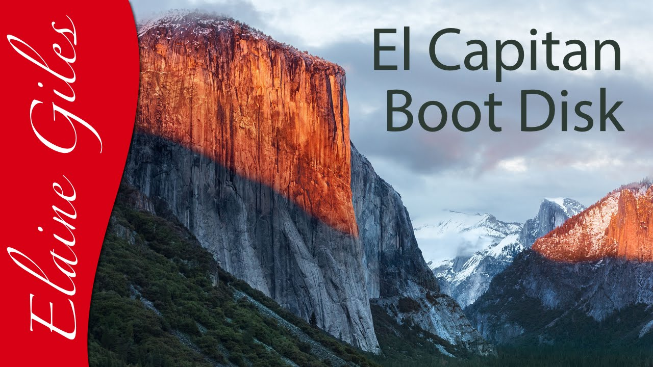 Create install disk for el capitan