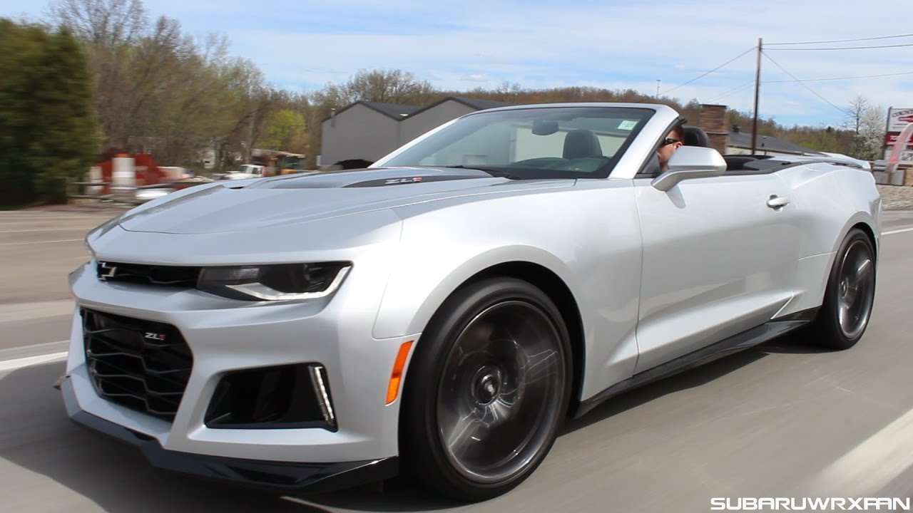 Quick Drive 2017 Camaro Zl1 Convertible Manual
