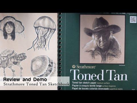Strathmore Toned Tan Sketchbook Review