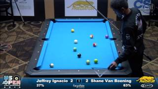 2015 US Open 8-Ball: Jeffrey Ignacio vs Shane Van Boening