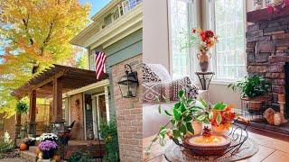 Stunning Fall Farmhouse Home Tour   Fall Decorating Ideas 2021   Fall Home Decor Tour