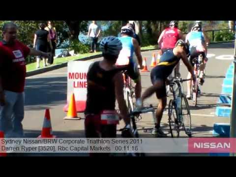 Rbc Capital Markets 3520 Sydney Nissan BRW Corporate Triathlon Series 2011