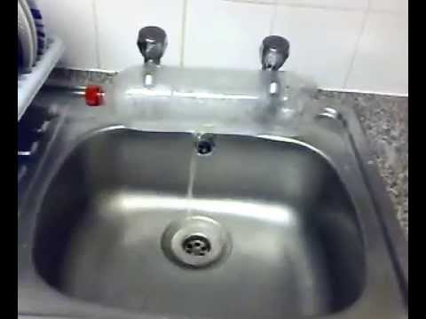 Kitchen Sink As Cold Water But No Hot Water