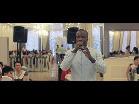 Чернокожий Певец на свадьбе в Калмыкии! Ведущий в шоке. Элиста