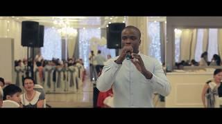 Чернокожий Певец на свадьбе в Калмыкии! Ведущий в шоке