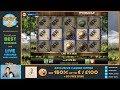£2,000 Vs £8,000 Wagering!! - MAGIC MERKUR Bonus Compilation (Online Slots)