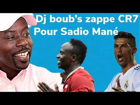 Dj boub's zappe Cristiano Ronaldo pour Sadio Mané pour la..