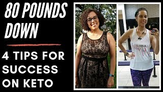 4 Tips for SUCCESS on the Keto Diet!!!