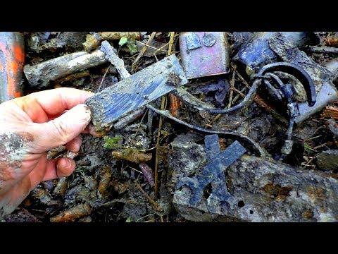 ML80 Раскопки немецкого блиндажа WW2 German dugout excavations HD SUB