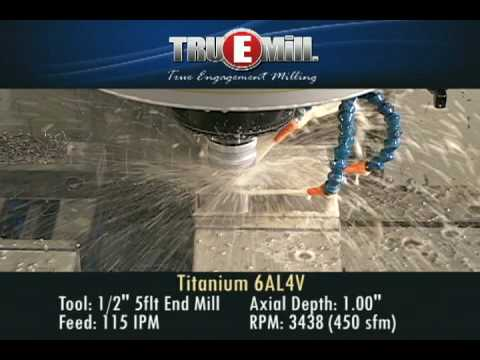TRUEMill - Titanium 6AL4V - Haas VF-2SS