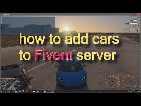 How To Add an add-on car To Fivem Server طريقة اضافة سيارات حقيقية في  سرفرات فايف ام