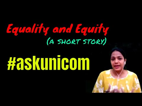 Equity and Equality ll #askunicom