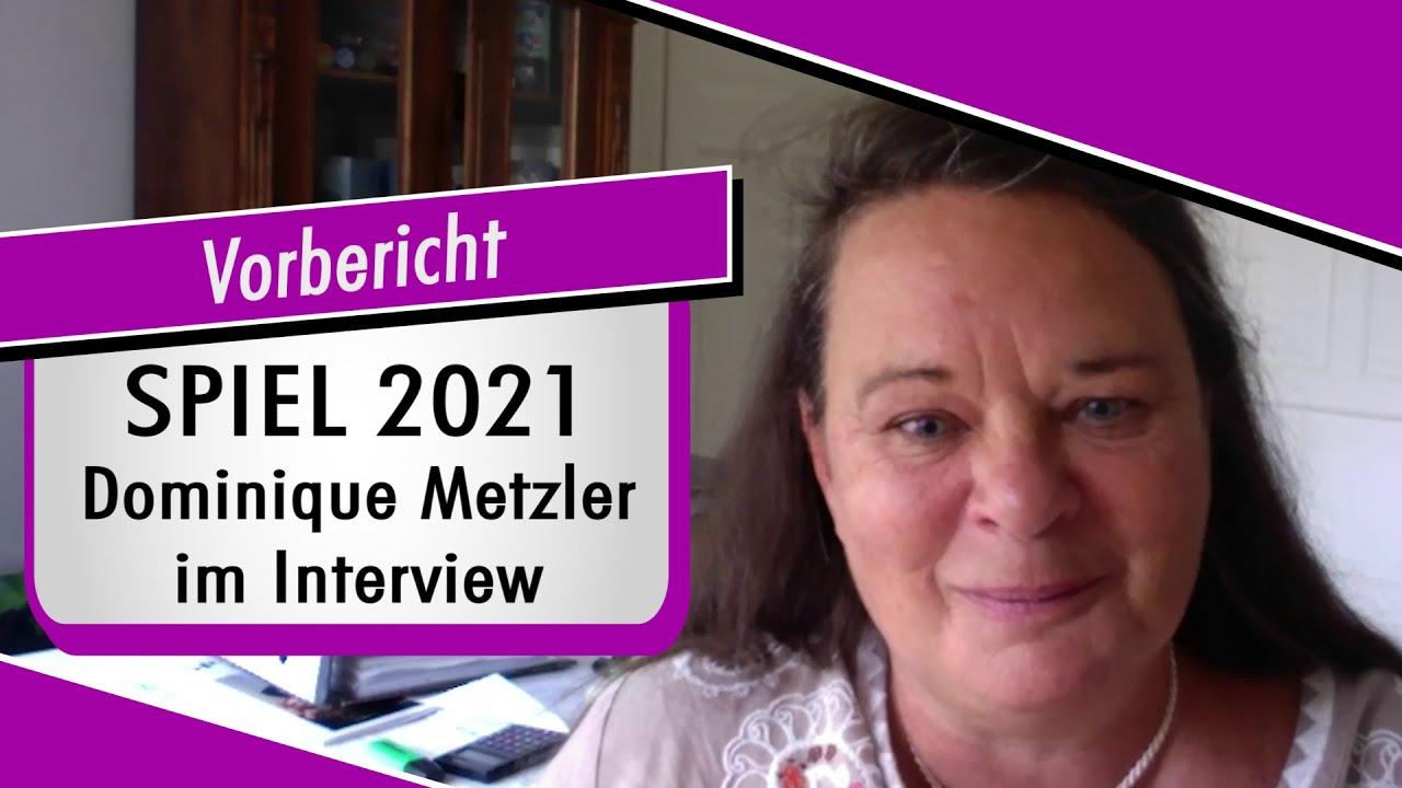 SPIEL 2021 - Vorbericht zur Messe - Dominique Metzler im Interview Spiel doch mal !
