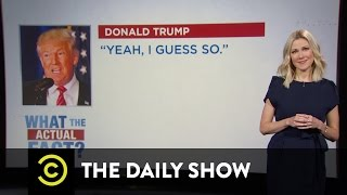 What the Actual Fact? - Donald Trump