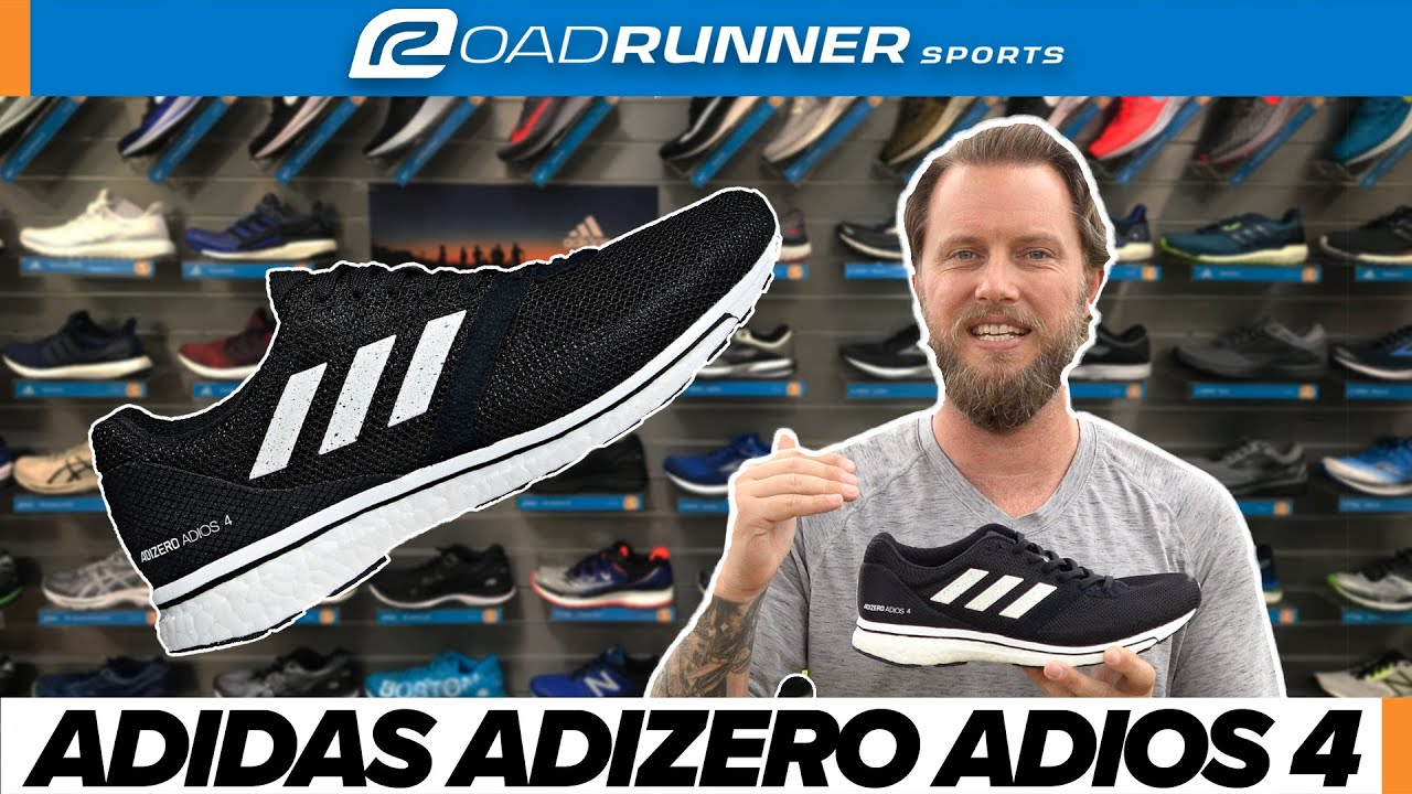 Sí misma Porque Robusto  Adidas Adizero Adios 4 Shoe Review | NEW FALL 2018 - YouTube