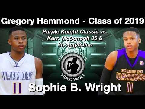 Gregory Hammond Highlights (Purple Knight Classic) - Sophie B. Wright 2019 G