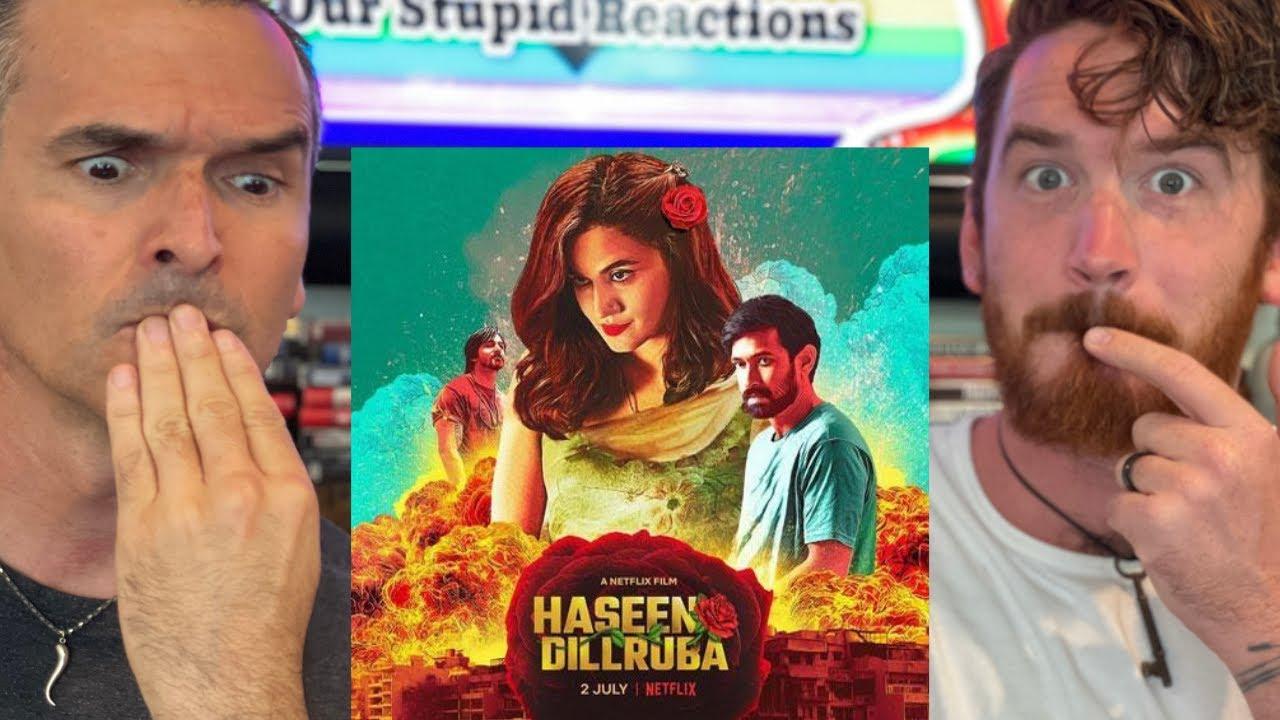 Haseen Dillruba  Trailer REACTION!!   Taapsee Pannu, Vikrant Massey