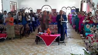Ibadah hari Raya Pentakosta (Gereja Pentakosta Mandala)