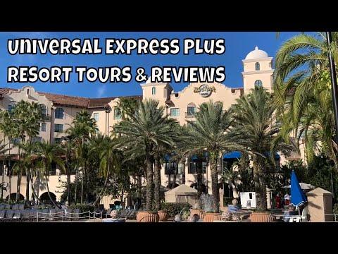 Universal Express Plus Resorts | Hard Rock Hotel | Loews Royal Pacific | Loews Portofino Bay