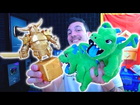 GOLDEN PEKKA + BABY DRAGONS! Supercell Shop