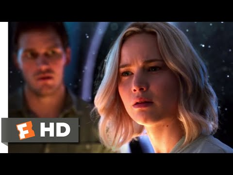 Passengers (2016) - Meeting Aurora Scene (2/10) | Movieclips