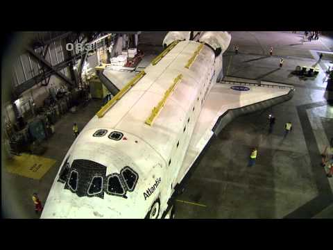 Atlantis Begins Move to Kennedy Space Center Visitor Complex