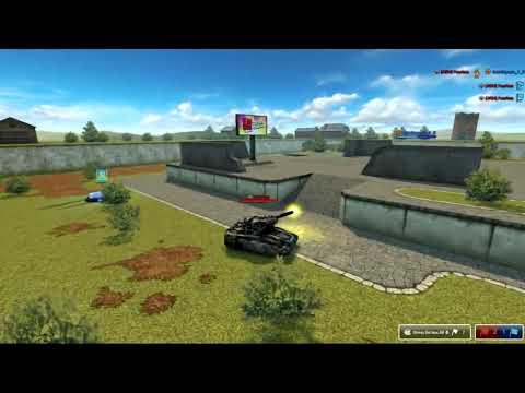 Tanki Online - XR/VR/KING ARM VS NOOB Aze/FearIess VS Azerbaycan_1_R [1-1 Run]