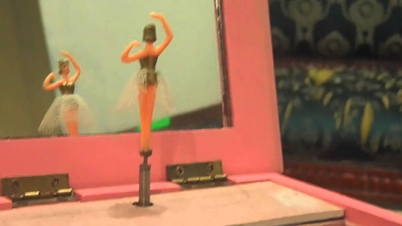 Spinning Ballerina Jewelry Music Box from 90s YouTube