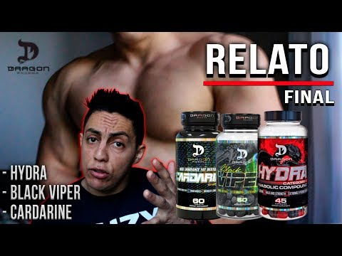 RELATO FINAL - HYDRA - BLACK VIPER - CARDARINE l PRODUTOS DRAGON PHARMA