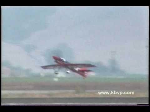 "Wayne Handley ""Turbo-Raven"" Aerobatic Airplane Crash at the Salinas Airshow"