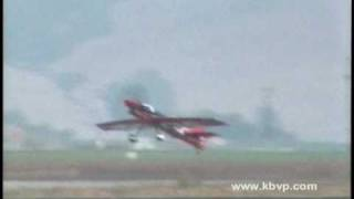 "Wayne Handley ""Turbo-Raven"" Aerobatic Airplane Crash at the Salinas Airshow"