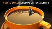 How To Find Unusual Options Activity - YouTube