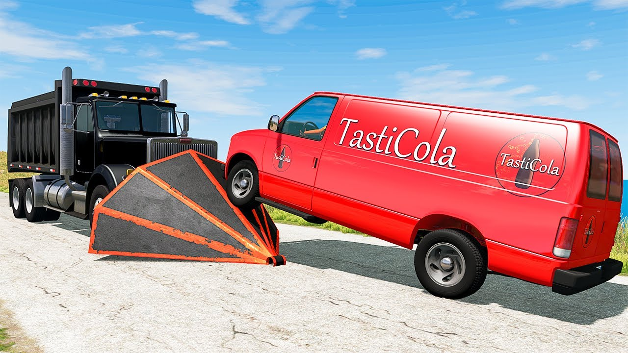 Tasti Cola Delivery Fails #35 - BeamNG DRIVE | SmashChan