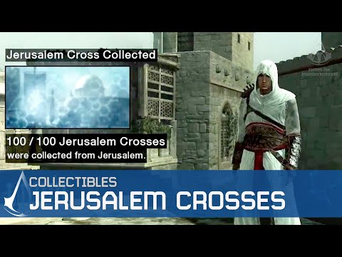 Assassin's Creed - Side Memories - Jerusalem Cross Locations