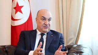 Elyes Kasri (Ambassador of Tunisia to Germany)