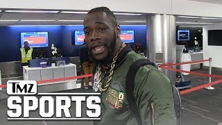 Deontay Wilder Says He Offered Anthony Joshua $50 Million To Fight | TMZ Sports