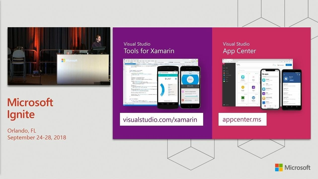 Build cloud-enabled mobile apps with Visual Studio and Xamarin - BRK2210