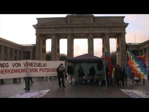 #Berlin 14.12.19 / Jose de #Bolivia / Solidaridad con Evo Morales #EvoElMundoEstaContigo