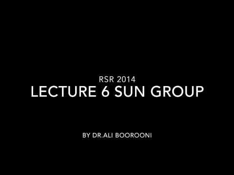 Lecture 6 RSR Sun Group 2014
