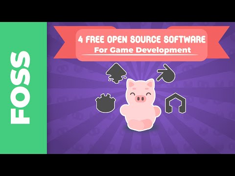 4 Free Open Source Sofware I Use For Game Development - Collab With GDQuest