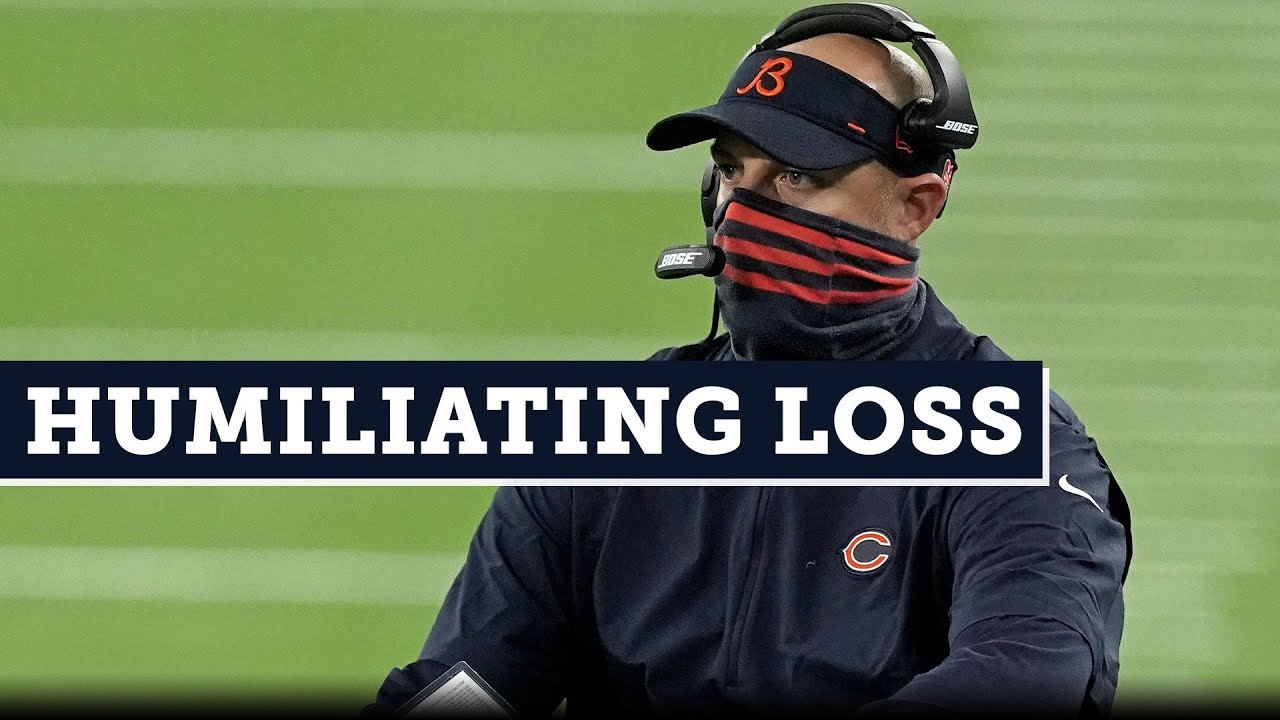 Bears coach Matt Nagy calls Packers loss embarrassing: 'I hope ...