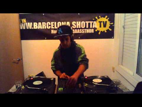 DAVID LEE + NAW DJ + DUB RAIDER @ BARCELONA SHOTTA TV