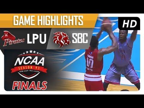 LPU vs. SBC | NCAA 93 | MB | Finals Game Highlights | November 10, 2017