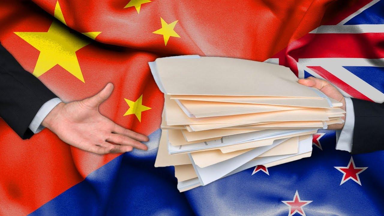 Kto dzieli się informacjami zChinami?