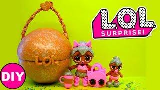 Куклы ЛОЛ Большой Шар ЛОЛ Сюрприз Игрушки своими руками LOL Dolls Surprise  D Y Легкий пластилин