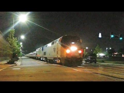 Amtrak 98 Silver Meteor arriving into Fayetteville station nice K5LA