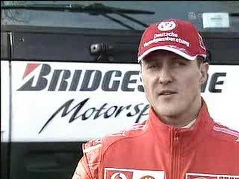 Michael Schumacher and Ross Brawn Interview in Fiorano