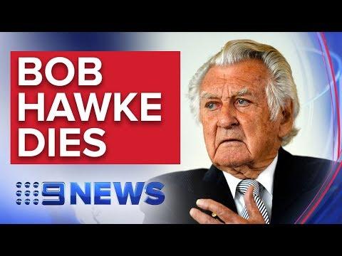BREAKING NEWS: Former Australian Prime Minister Bob Hawke dies | Nine News Australia